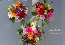 Yujing Bridesmaid Bouquets
