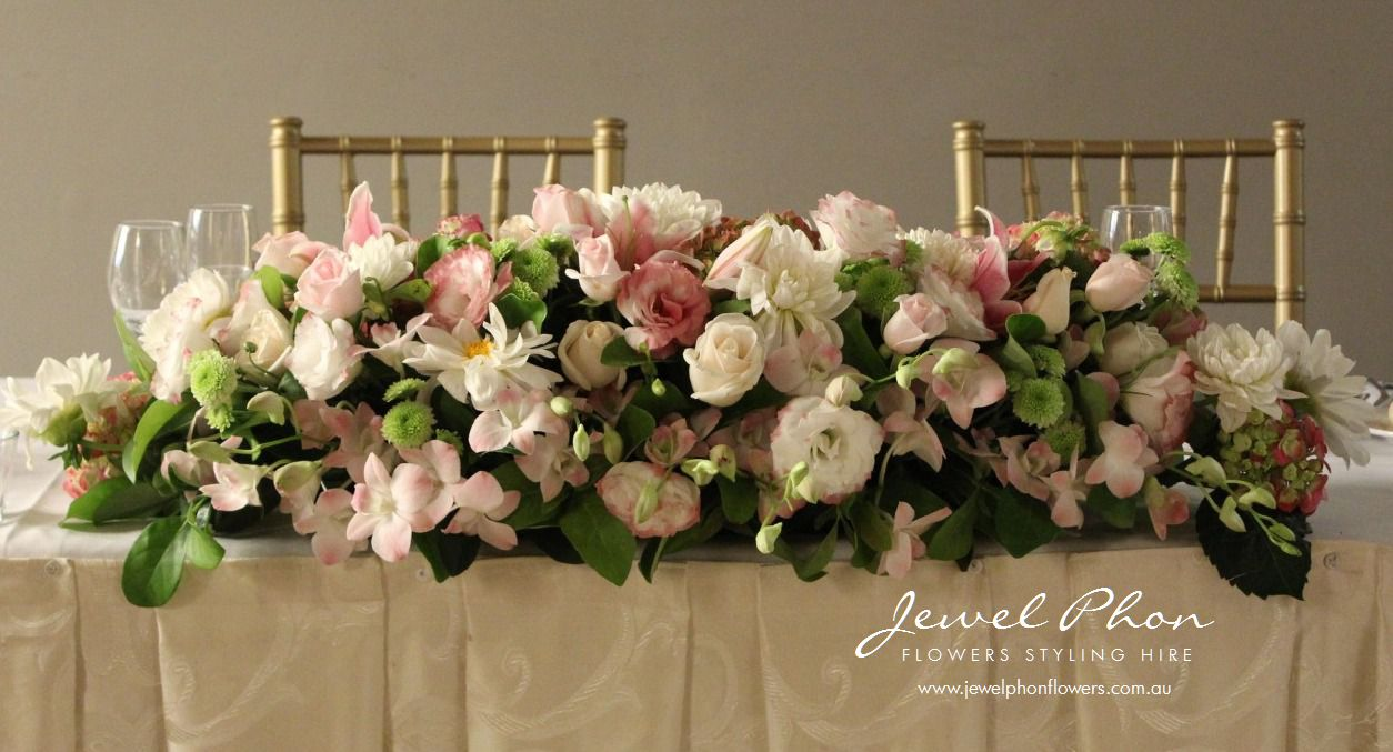 Curzon Hall Bridal Table Long & Low