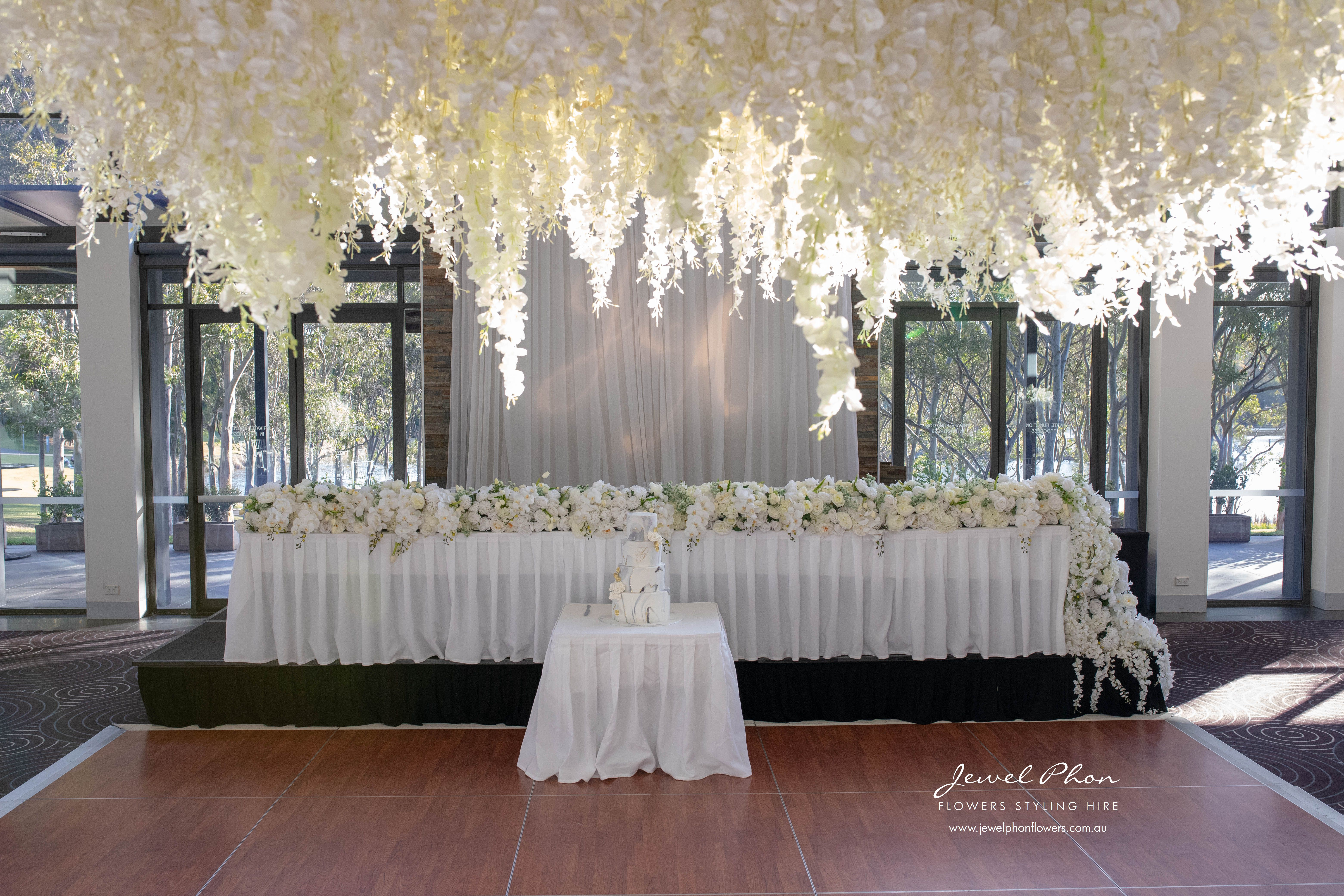 Jemimah & Adem Bridal Table & Hanging In