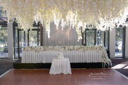 Jemimah & Adem Bridal Table & Hanging In