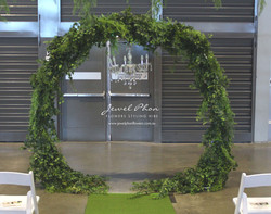 Twilight Ceremony Round Arch
