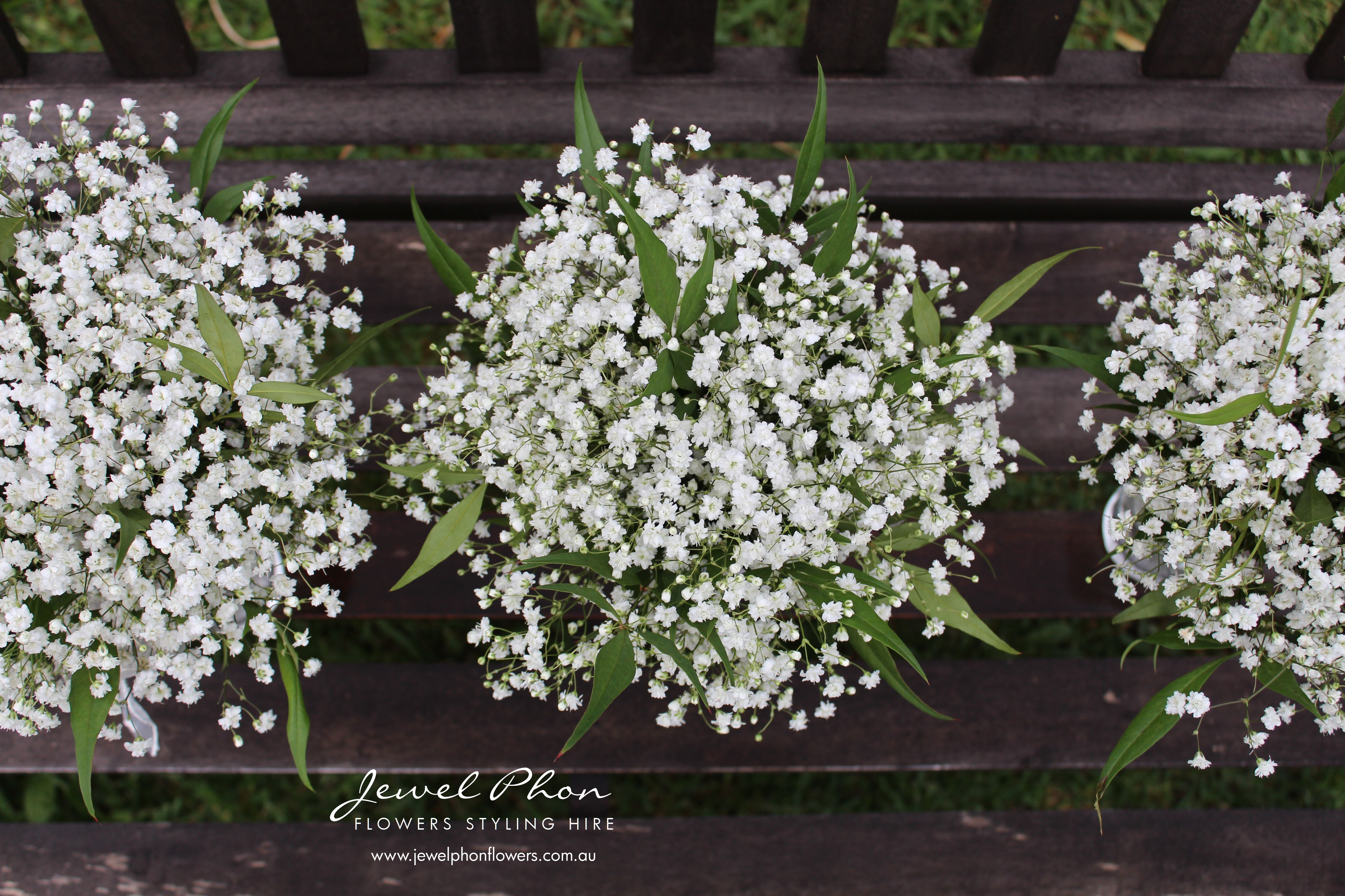 Annie Baby's Breath & Foliage Bouquets