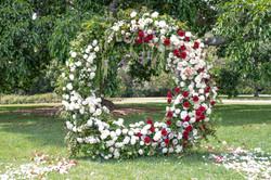 Alok & Hannah Ceremony Arch