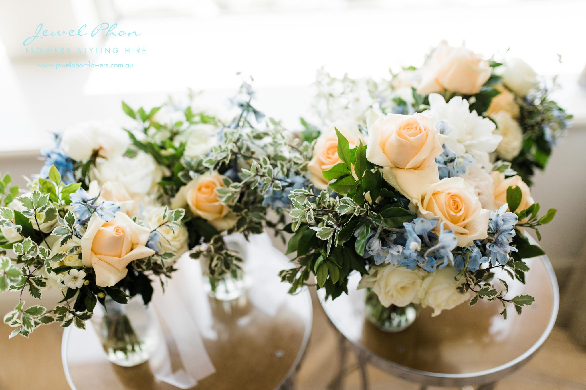 Tina & Robert Bouquets