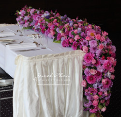 Manal Table Runner Perspective View
