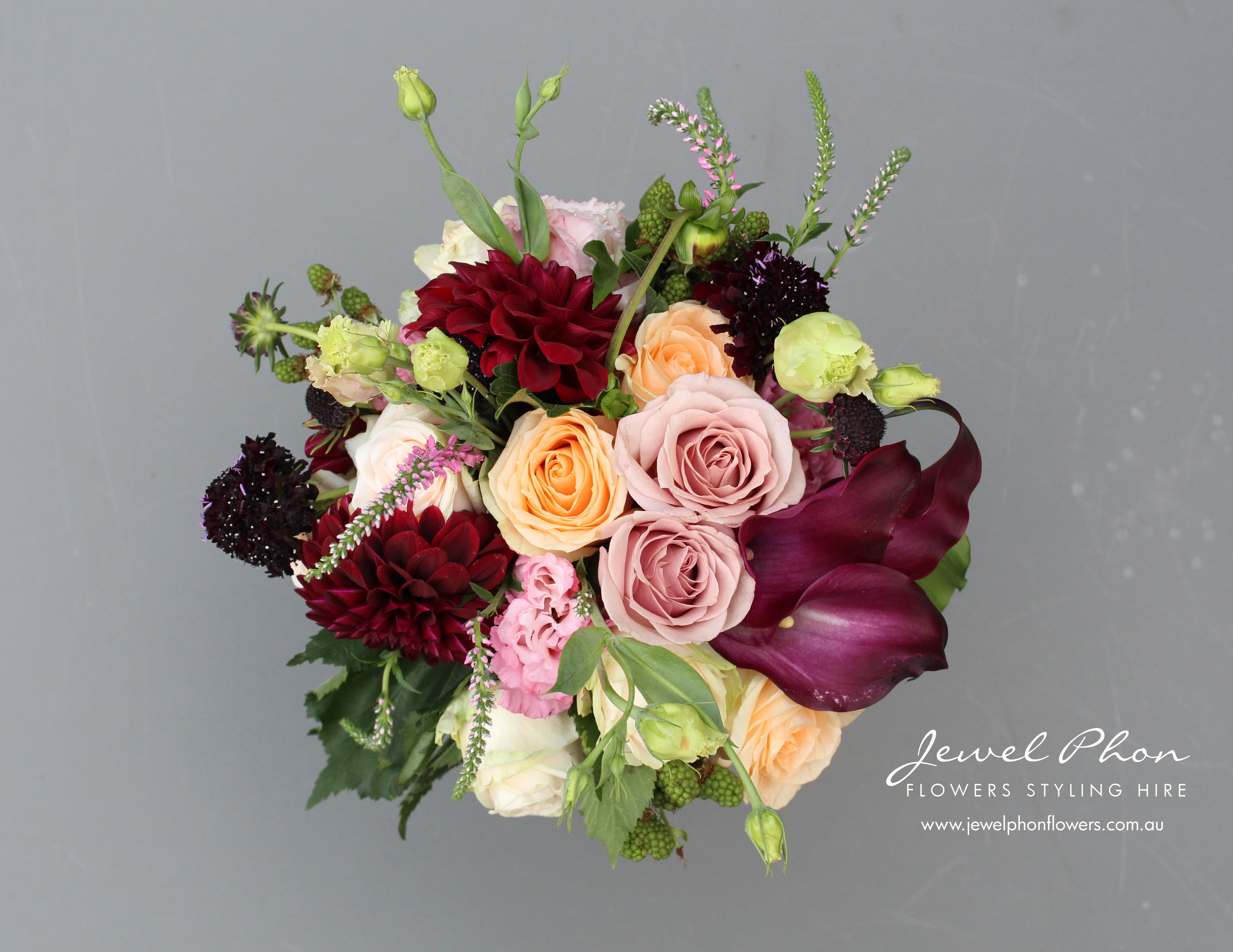 Jane & Jacinth Bridesmaids Bouquet