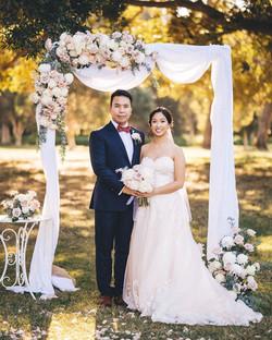Vanessa & Peter Ceremony Arch