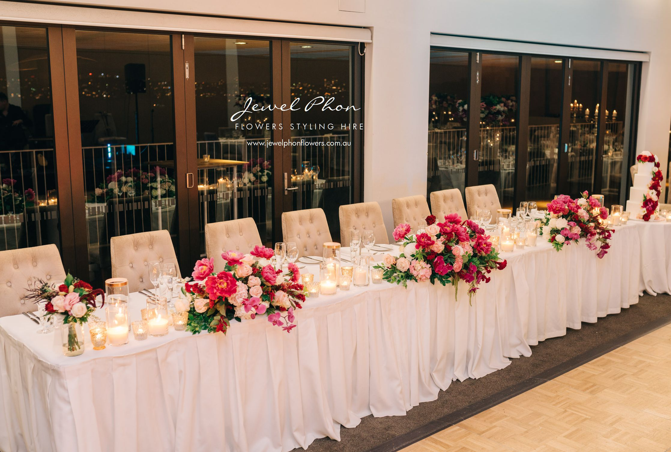 Jessica & Gokhan Bridal Table
