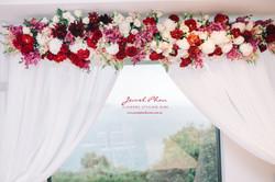 Jessica & Gokhan Ceremony Arch