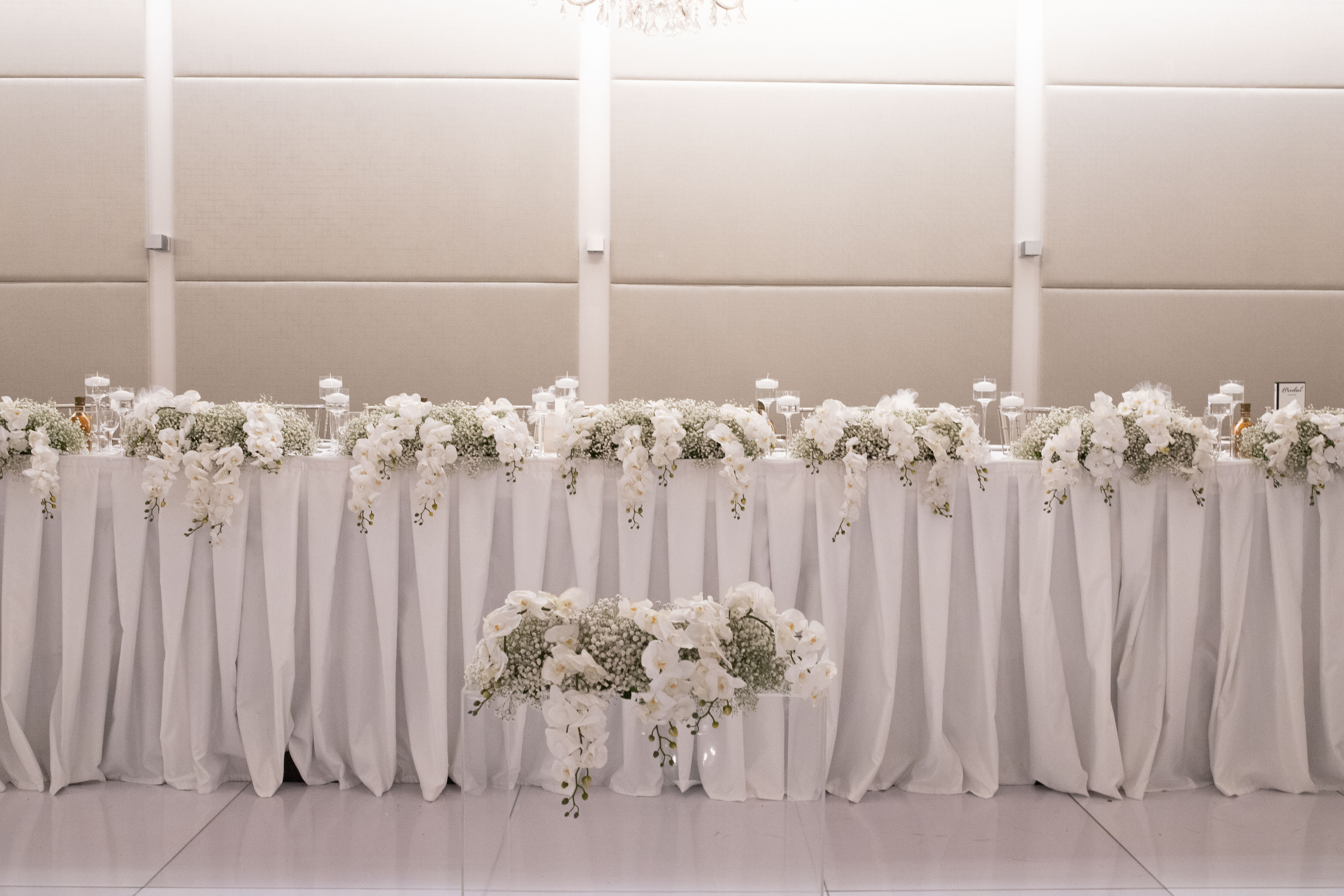Tahlia & David Bridal Table