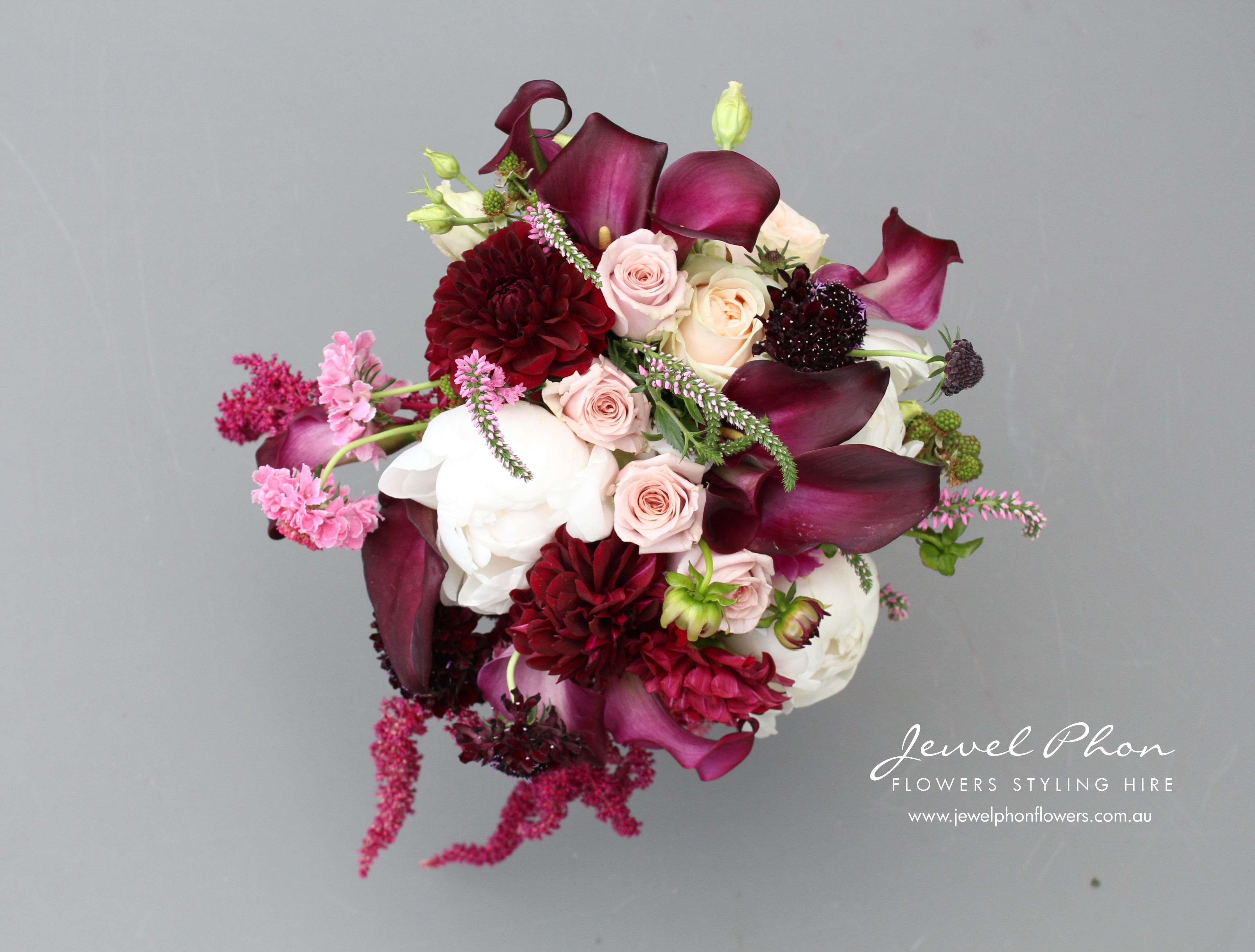 Jane & Jacinth Brides Bouquet