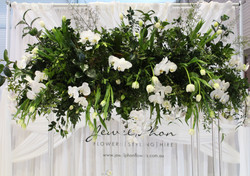 White Luxe Kings Canopy