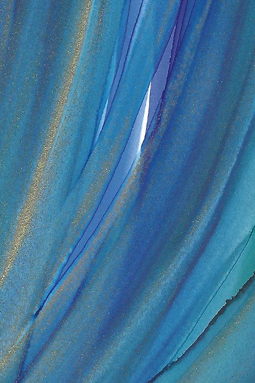 """""""Blue Dreams"""" - Exercise Mat"""