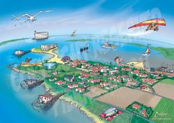 Carte Port des Barques