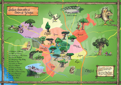Carte des arbres de Charente Maritime