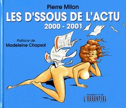 couv' Les dessous de l'actu 2000-2001