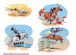 Illustration livre pour enfants Editions BELIN 1