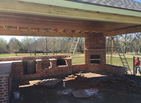 Progress on current build in Prosper Texas