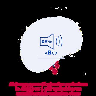 WINE airborne acoustical noise emissions