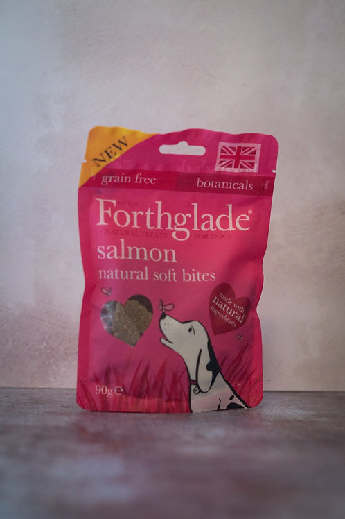 Forthglade Salmon Soft Bite Treats