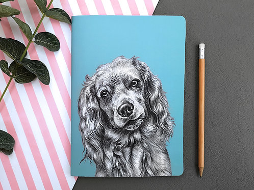 Cocker Spaniel notebook