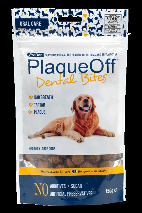 Plaque Off Dental  Bites - 150g