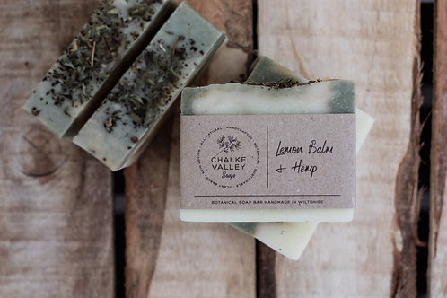 Chalke Valley Soaps - Lemon Balm & Hemp