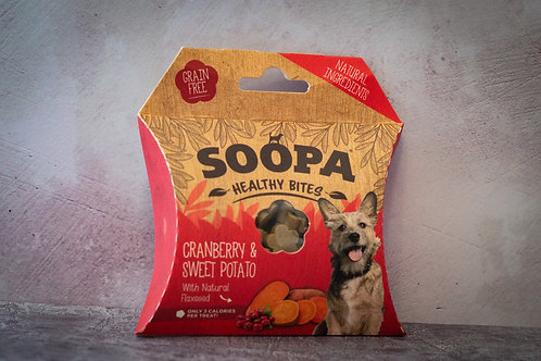 Soopa Cranberry and Sweet Potato Healthy Bites