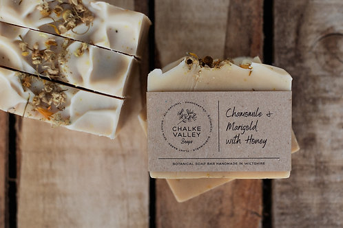 Chalke Valley Soaps - Chamomile & Marigold with Honey