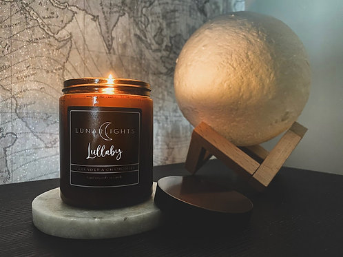 Lunar Lights Candle ~ Lullaby