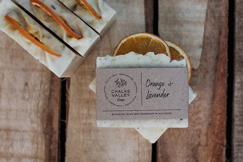 Chalke Valley Soaps - Sweet Orange & Lavender