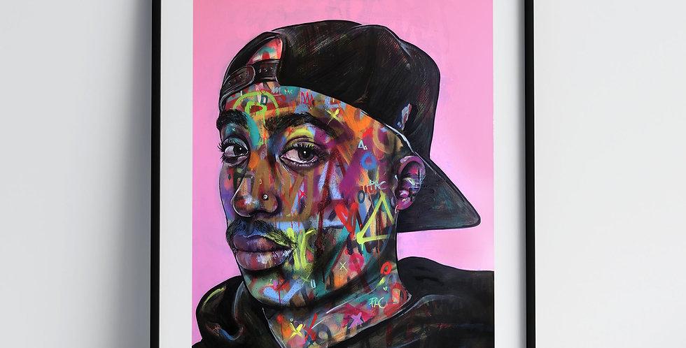2Pac - Art Print