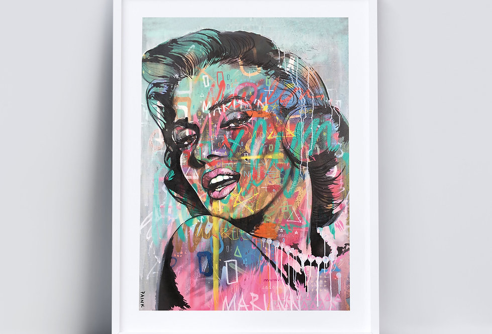 The Monroe - Art Print