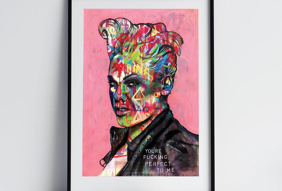Pink - Art Print