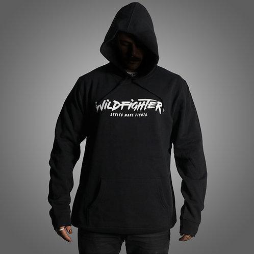 Wildfighter Black Hoodie (White Logo)