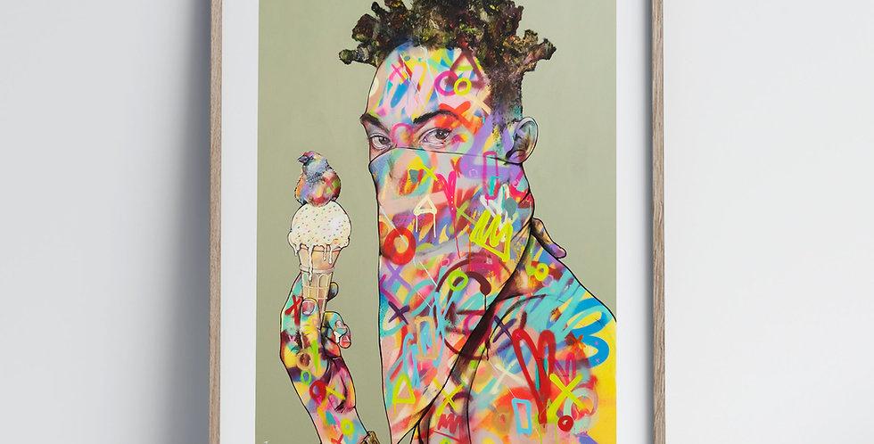 Rainbow Gangbanger - Art Print