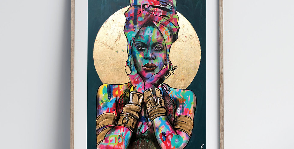 The Badu - Art Print