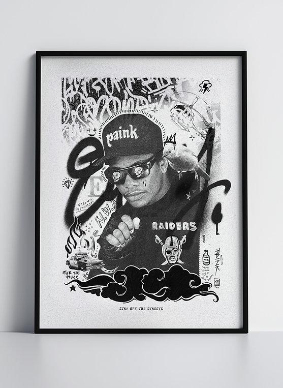 Eazy does it - Art Print