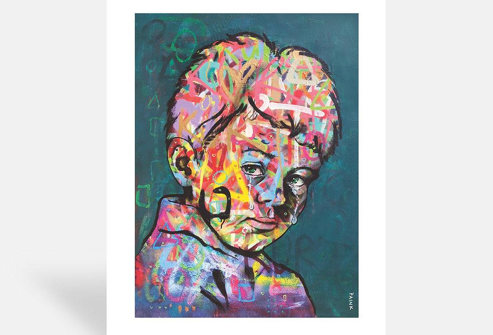 The Crying Boy - Art Print