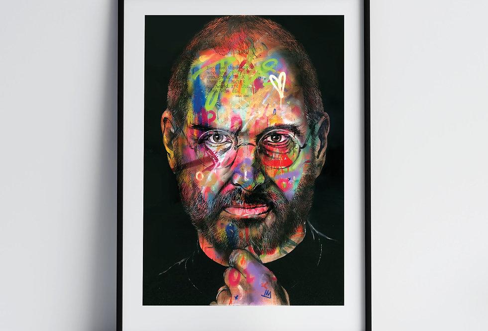 Steve Jobs - Art Print