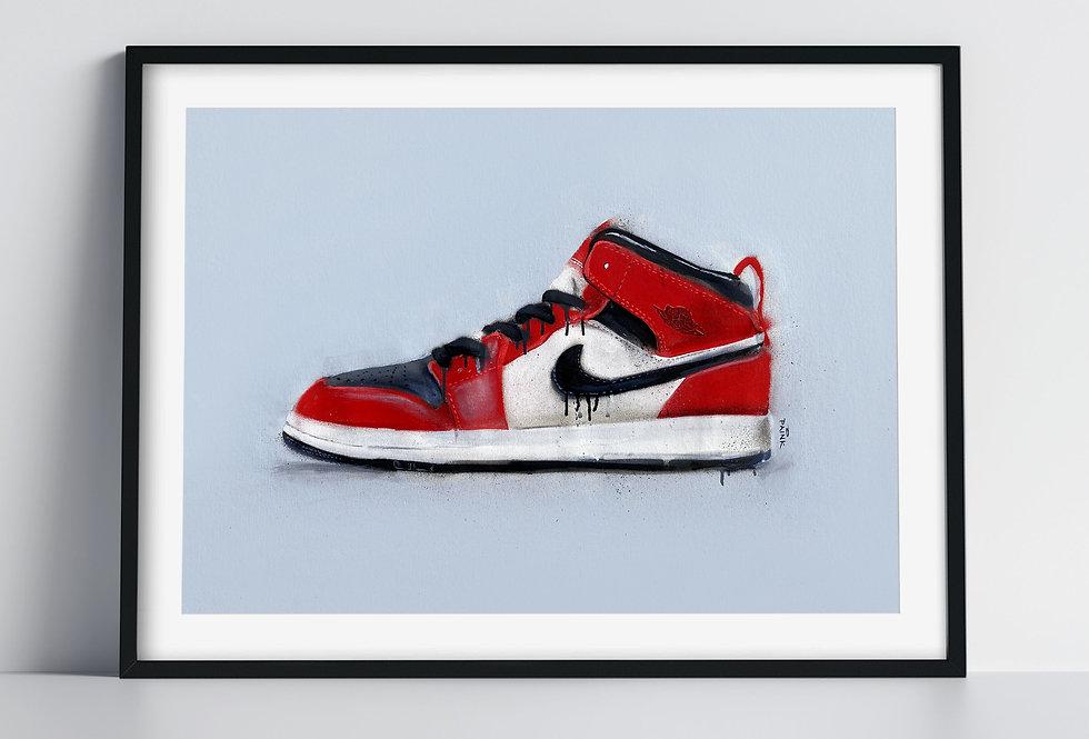 Air Jordan - Art Print