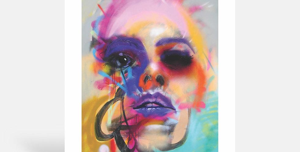 Left eye - Art Print