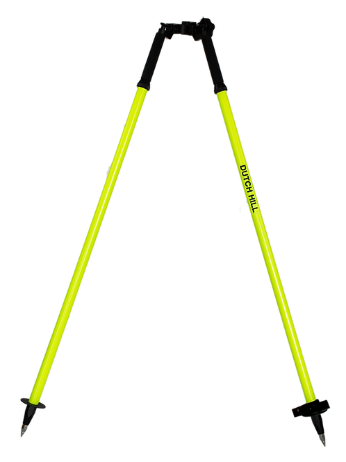 DH04-001 Aluminum Bipod, Florescent Yellow