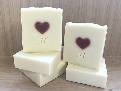 Summer Bouquet Heart Soap