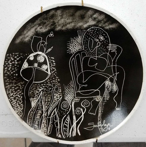Ceramica plate