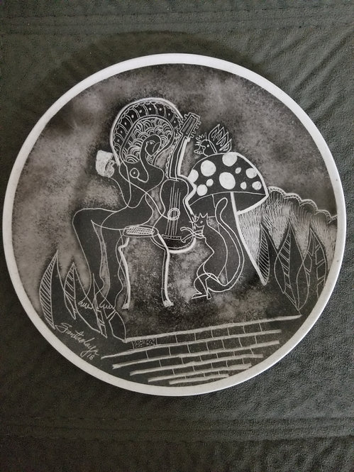 Santaolaya's plate.