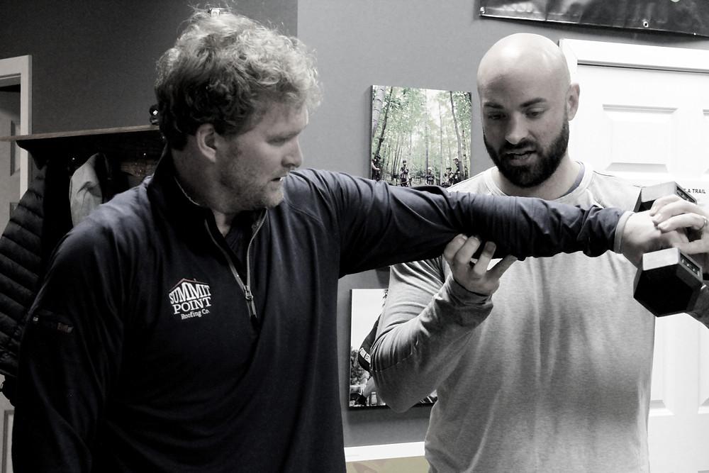 Brad Training Joe