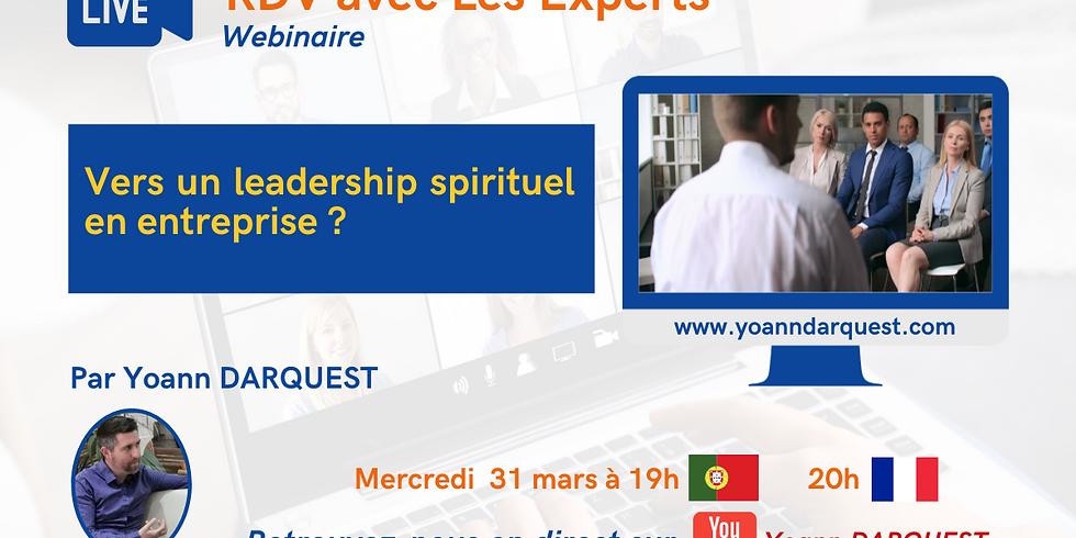 Webinaire Vers un leadership spirituel en entreprise ?