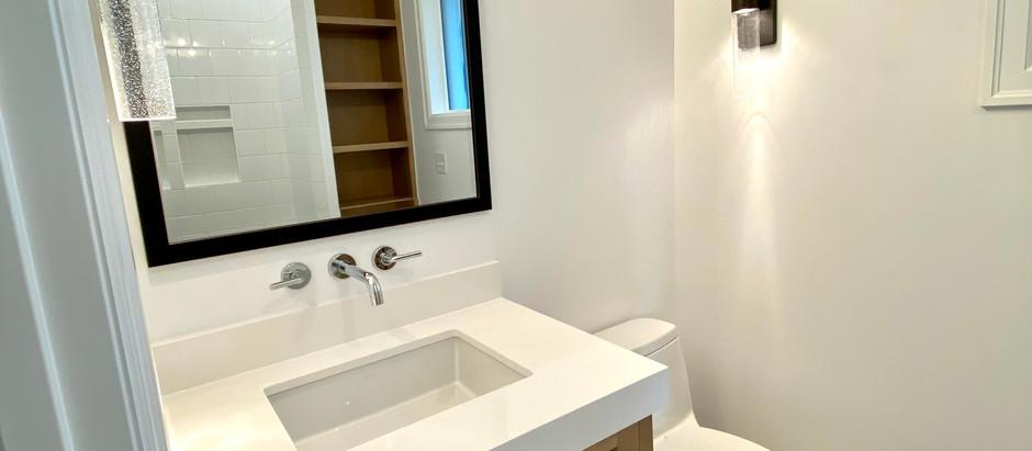 Bear Creek Project Groovy Porthole Bathroom