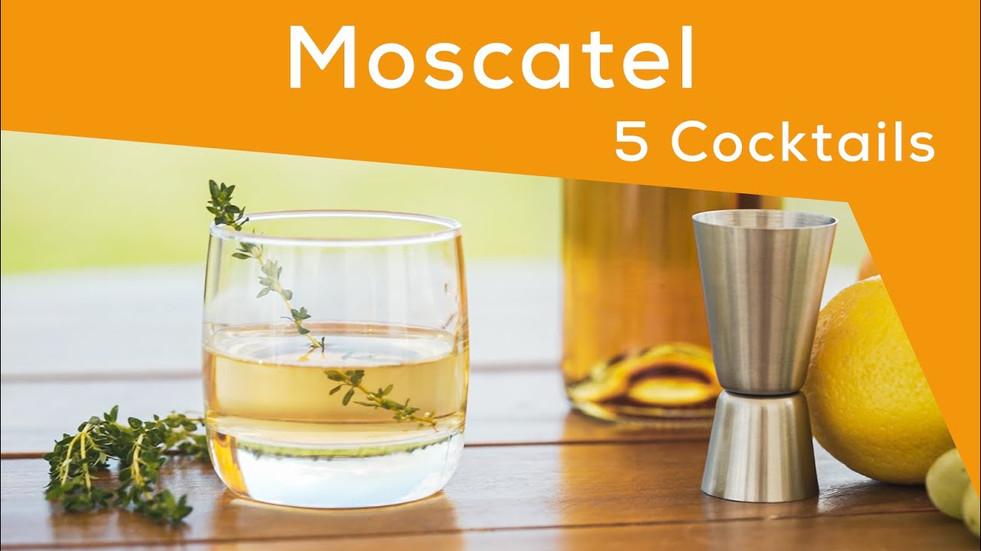 Moscatel: 5 Cocktails
